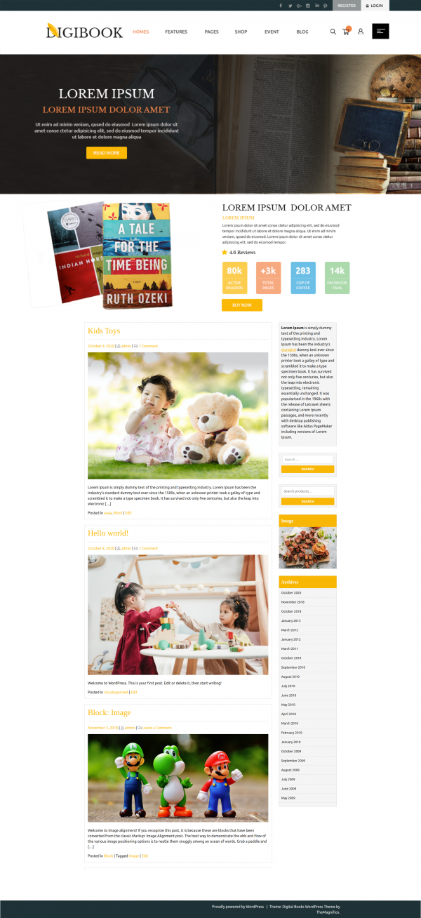 free-book-store-wordpress-theme