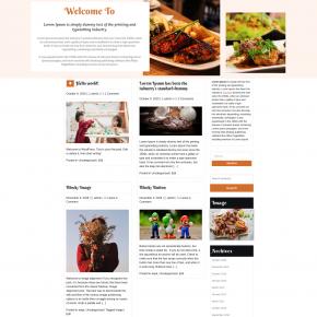 Free Digi Restaurant WordPress Theme