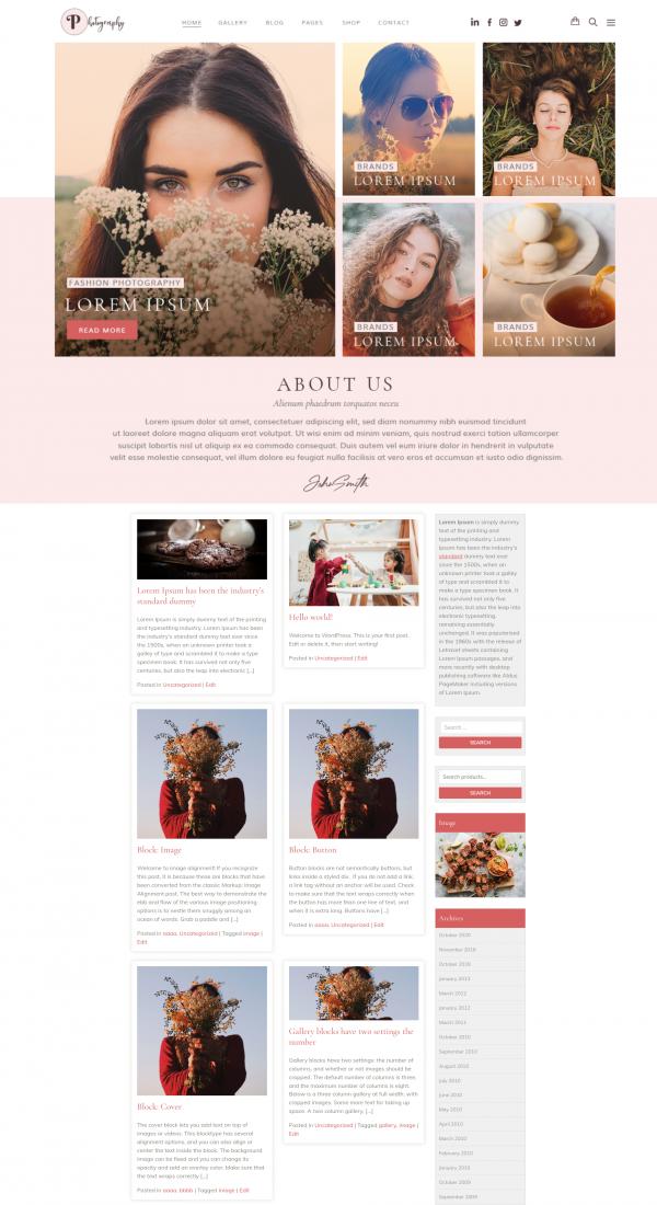 free-fashion-photography-wordpress-theme