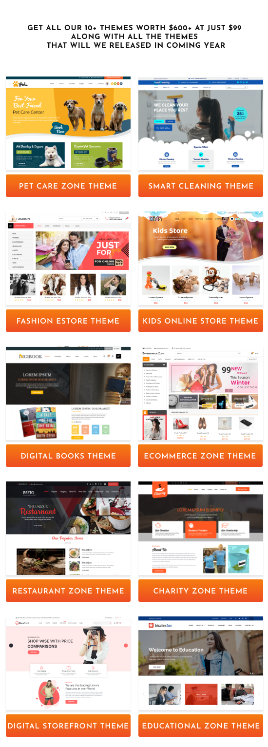 WordPress theme pack