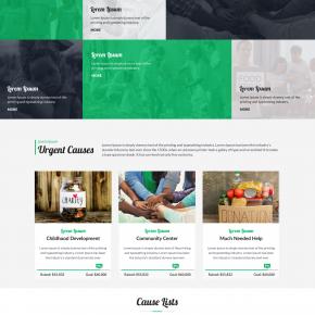Social Services WordPress Theme